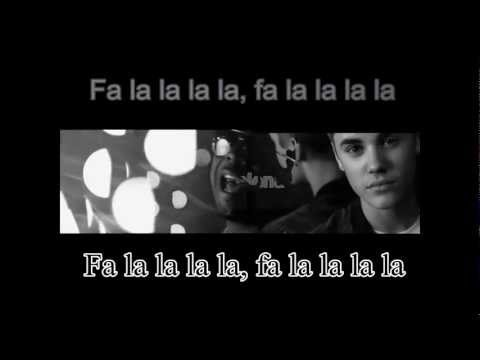 Justin Bieber - Fa La La ft. Boyz II Men (Traducida al espaol) + Lyrics [Official Music Video]
