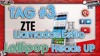 Tag #3 Modulos Xposed - Llamadas Heads Up Estilo Lollipop