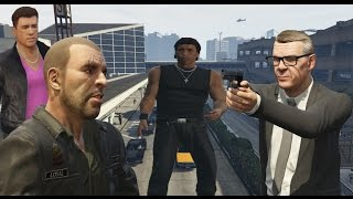 GTA IV Characters Appears in GTA V