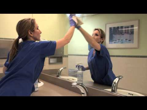 Commercial Restroom Cleaning Training Video Using GTC Green Cleaning Products