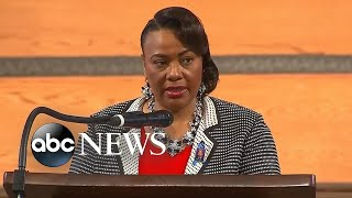 Dr. Bernice King speaks at John Lewis' funeral