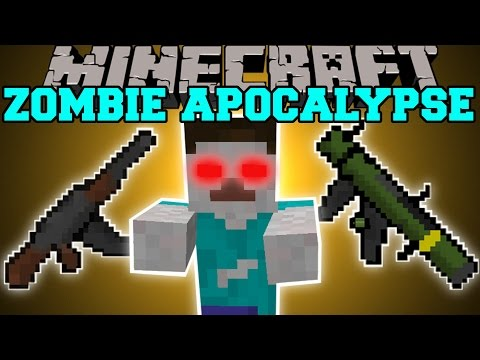 Minecraft: ZOMBIE APOCALYPSE MOD (CITIES. GUNS. INVASIONS. STRUCTURES. & MORE!) Mod Showcase