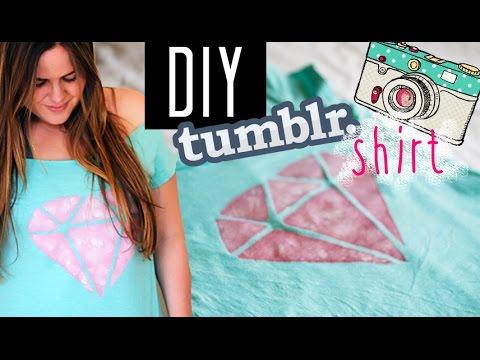 Diy Upcycled t Shirt Diy Upcycling Tumblr Shirt For