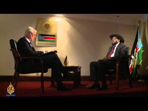 Salva Kiir: 'I cannot bring peace alone'