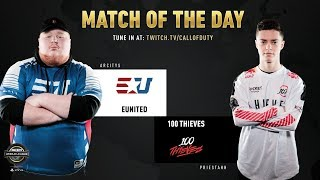 eUnited vs 100 Thieves | CWL Pro League 2019 | Division B | Week 3 | Day 4