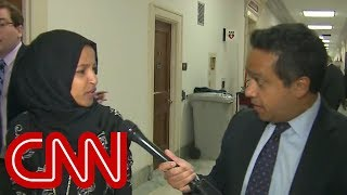 Rep. Ilhan Omar gets upset with CNN reporter: What is wrong with you?