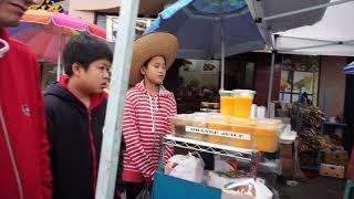 $3.50 Fresh Sugar Cane Juice at China Town