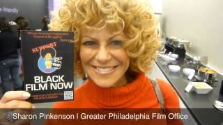 Sharon Pinkenson - Black Film Now Postcard Promo