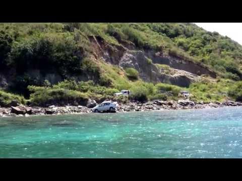 Palm Tree Charters car crash cruise..