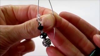 Orecchini ad Uncino con Swarovski (Video Tutorial)