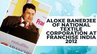 Aloke Banerjee at Franchise India 2012