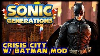 Sonic Generations PC - Batman Character Mod