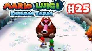 Mario & Luigi: Dream Team - Gameplay Walkthrough Part 25 - Mammoshka (Nintendo 3DS)