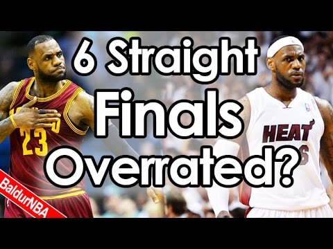 Lebron 6 Finals Dominant or Overrated?   Curry Exposed?