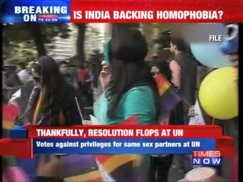 India Opposes Rights To Same-sex Partners Of Un Staff video