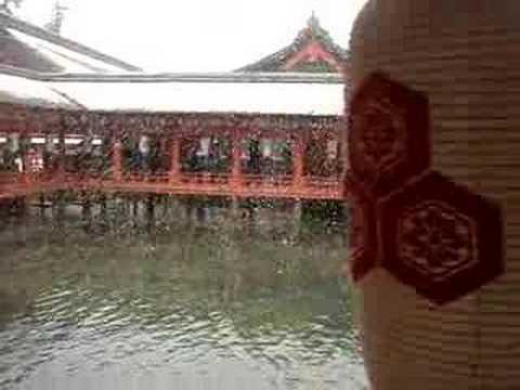 Itsukushima Jinjya in Miyajima Japan World Heritage