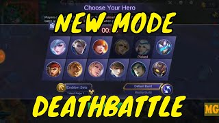 NEW GAME MODE: DEATHBATTLE | HAPPY FEEDING PROGRAM - MOBILE LEGENDS