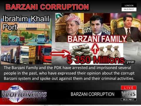 Barzani Corruption Ibrahim Khalil