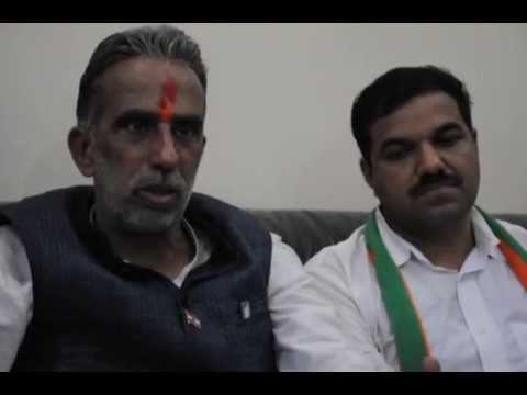 Faridabad BJP MP & Minister Krishanpal Gurjar