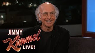 Larry David Confronts Jimmy Kimmel About Not Saying Hello