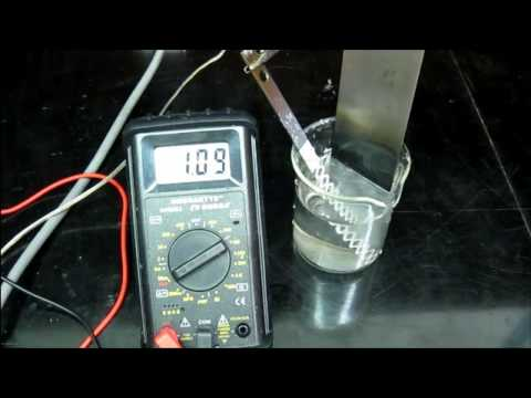 Make Manganese Dioxide Electrodes (for chlorate or HHO cells)