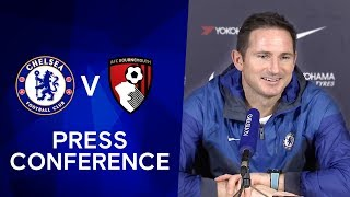 Frank Lampard On Fikayo Tomori & Jurgen Klopp Contract Extensions | Chelsea v Bournemouth
