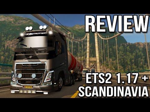 REVIEW - ETS2 1.17 + Scandinavia DLC