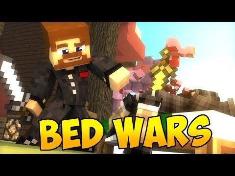 ОДИН ПРОТИВ НУБОВ В БЕДВАРСЕ - Minecraft Bed Wars