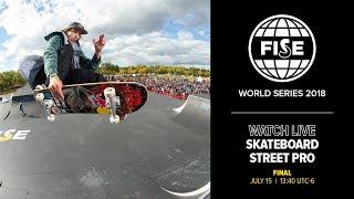 FWS EDMONTON 2018: Skateboard Street Pro Final