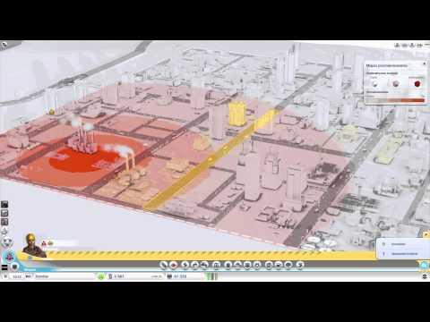 SimCity Zagraj z Huskiem Promieniowanie odc.4