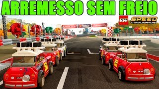 Forza Horizon 4 LEGO, ARREMESSO SEM FREIO DE CARROS LEGO - GamePlay