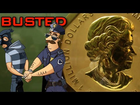 Arrests Made In Mive Gold Maple Coin Heist