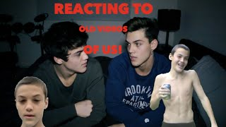 REACTING TO OLD VIDEOS OF US // Dolan Twins