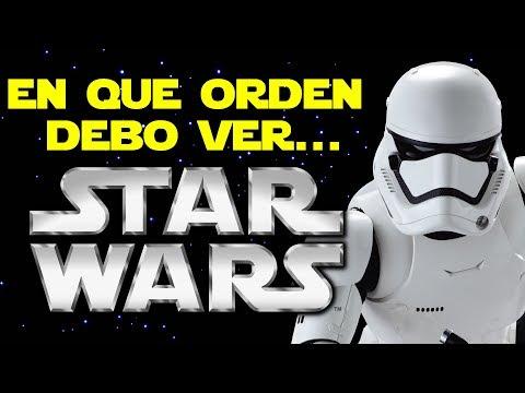 ¿En que orden debo ver Star Wars?