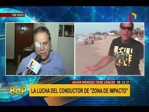 Javier Meneses: Ex conductor de TV  da detalles de su lucha contra el cáncer