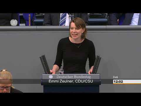 Emmi Zeulner: Gesundheit [Bundestag 18.05.2018]