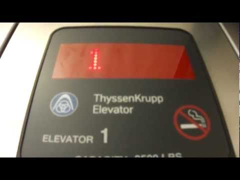 ThyssenKrupp Oildraulic Elevator @ The Museum of the Big Bend Alpine, TX