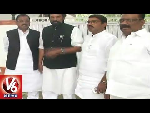 Telangana Congress Leaders To Meet AICC President Rahul Gandhi | Delhi | V6 News