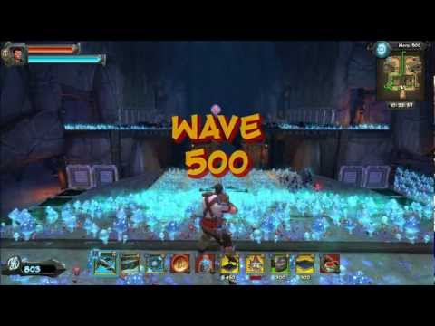 Orcs Must Die 2 Solo-Close Cliffs Wave 1,000+ Endless HD