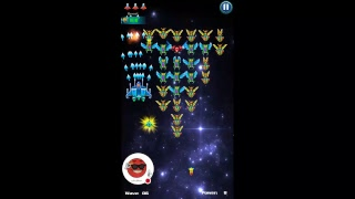 A Bullet hell that looks like knock off galaga