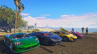 GTA 5 - TOP 10 CAR MODS