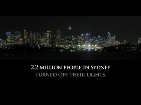 Earth Hour 2009 Movie