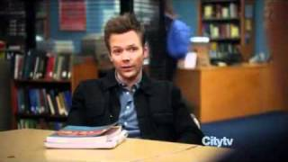 "Joel McHale - ""Asian Population Studies"" Winger Speech"