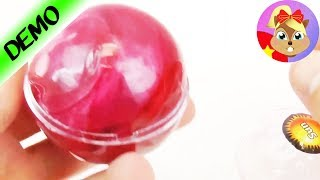 Slime hay đất sét trong quả bóng mặt trời ?