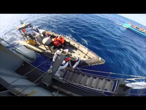 LE Eithne Mediterranean Operations 22nd June 2015