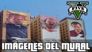 GTA V | IMÁGENES DEL MURAL DE MICHAEL, TREVOR & FRANKLIN | HDK™