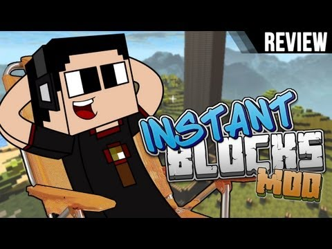 Minecraft de PC: Instant Blocks para 1.6.2
