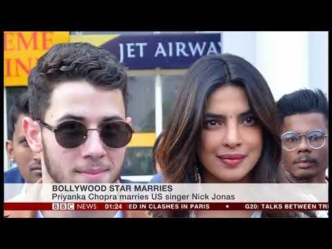 RAJ&PABLO BBC WORLD NEWS : PRIYANKA CHOPRA /NICK JONAS WEDDING