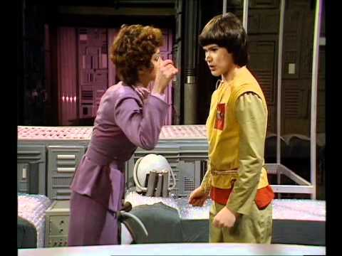 Doctor who - Brillant Tegan attacks Stupid Adric (Horray Well Done Tegan )