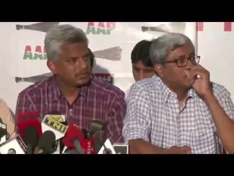 Prashant Bhushan, Yogendra Yadav Expelled from Aam Aadmi Party | Arvind Kejriwal 2015 Full Video